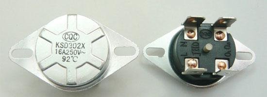 燃气热水器防干烧温控器限温器