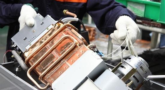 燃气热水器生产线